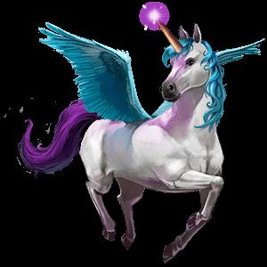 göttliches pferd bellacorn